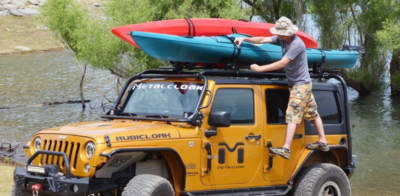 Kms By Metalcloak Adventure Rack System Jeep Jk Wrangler