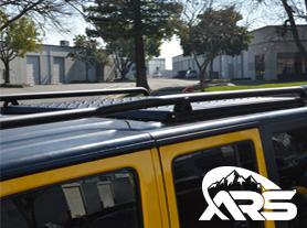ARS 4-Door Pro Roof Rails Lo Profile Design