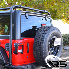 ARS JL Wrangler Rear Pro Hoop Kit