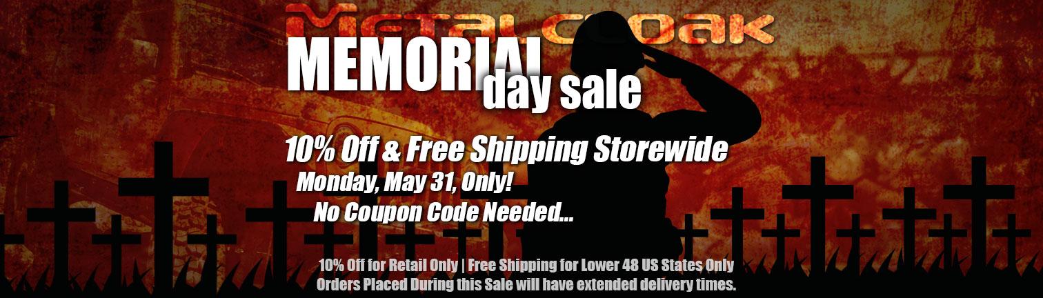 metalcloak sale banner