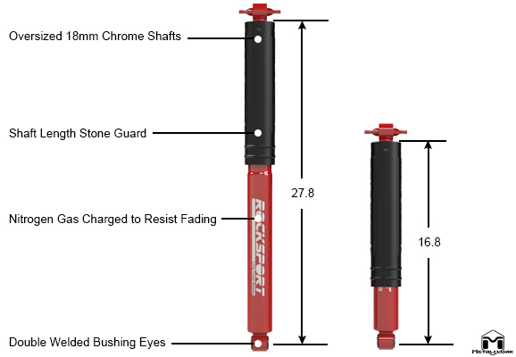 RockSport Rear Shocks