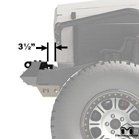 Hi-Mount Shackle Systems Side View