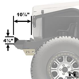 Roller Fairlead Bracket Side View