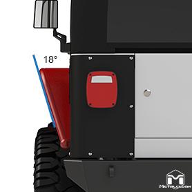 Rear Flare Deflection Angle