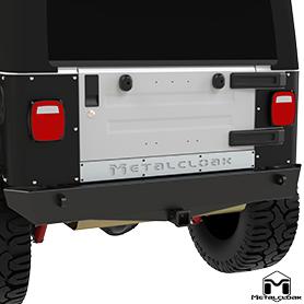 TJ Wrangler Rear Crawler Bumper