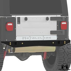 TJ Wrangler SlimCrawler Rear Bumper