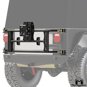 TJ Tub Mount Tire Carrier