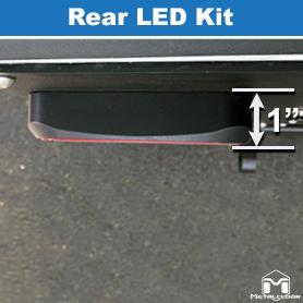 MetalCloak Rear LED Kit Profile