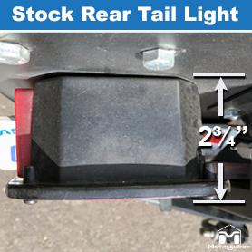 Stock Rear Tail Light Profile