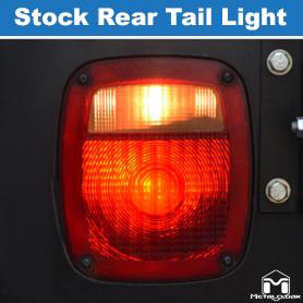 Stock Tail Light Luminosity