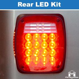 MetalCloak Rear LED Light Luminosity