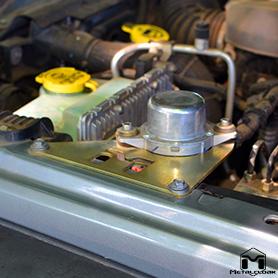 JK Wrangler Vacuum Pump Relocation Kit