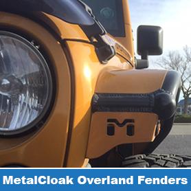 MetalCloak Overland Fenders