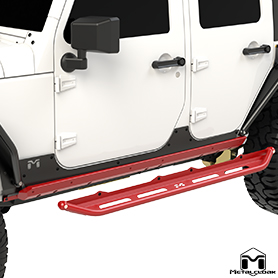 JK Wrangler 2-Door Rocker Kit