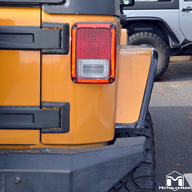 More Coverage Rear Overland Fenders
