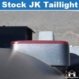 Stock Rear Tail Light Profile