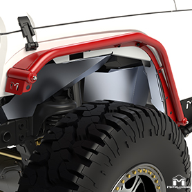 JK Overline Front Fenders