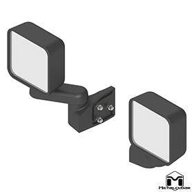 Tube Door Mirror Kit