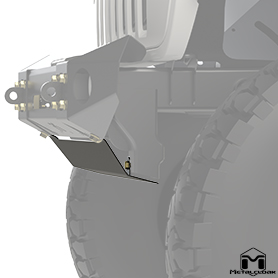 Bumper Skid Plate Side View
