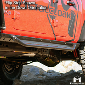 Flip Step Lower Configuration