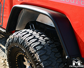JT Gladiator Rear Overland Fender Flare