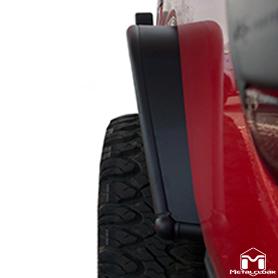 JT Gladiator Rear Overland Fender Flare Side View