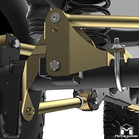 Rear Track Bar Mounting Bracket