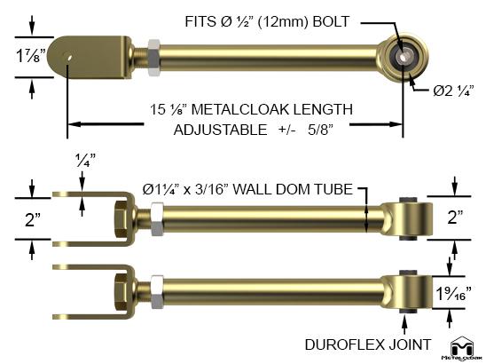 Upper Front Duroflex Control Arm