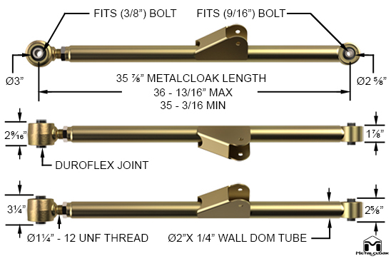 TJ Wrangler Lower Front Duroflex Control Arms