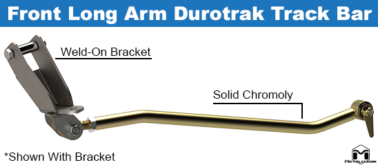 TJ Wrangler Front Durotrak Track Bar