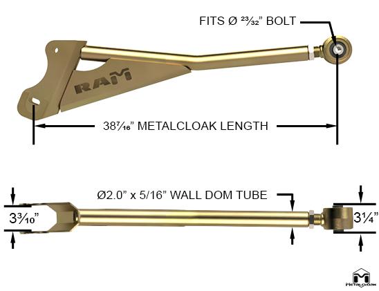 JK Wrangler Lower Front Duroflex Control Arms