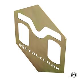 MetalCloak M Hex Logo Sign