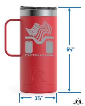 MetalCloak RTIC Travel Cup