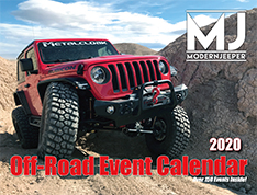 Off Road Calendar 2020 Cover