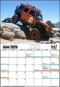 Off Road Calendar Full
