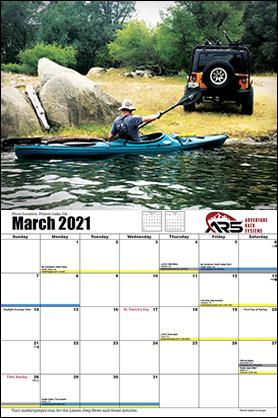Off Road Calendar Full